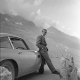 Aston Martin and Sean Connery