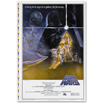 Star Wars — Episode IV (Style A)