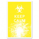 keep calm biohazard